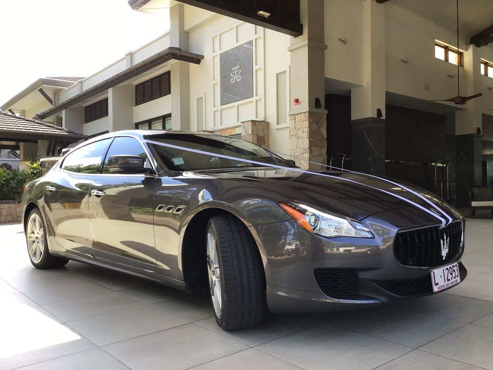 Travel in style with our Maserati Limousine